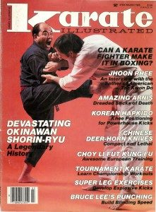 karate-illustrated-march-1985-vol-16-no-3-amazing-arnis-kicking-and-the-stick_mike-replogle-221x300